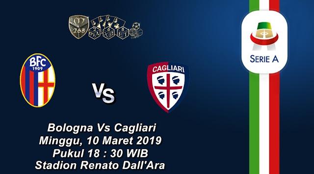 Prediksi Bologna Vs Cagliari, Minggu 10 Maret 2019 Pukul 18.30 WIB
