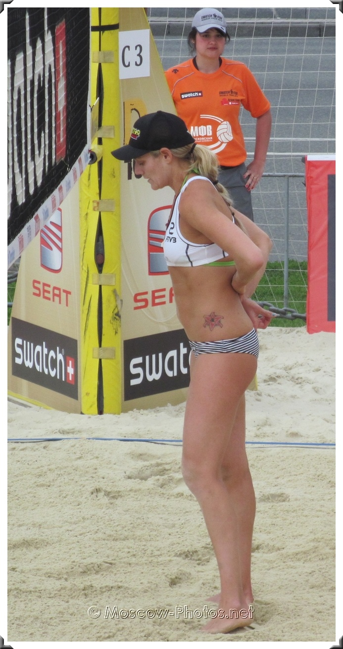 Jennifer Kessy from USA Beach Volley Team