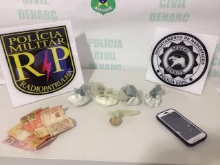 Duas mulheres são presas por tráfico de drogas em Aracaju