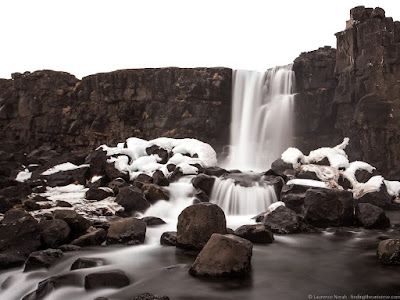 Oxararfoss Watefall %25C3%259Eingvellir National Park Iceland_by_Laurence Norah-3