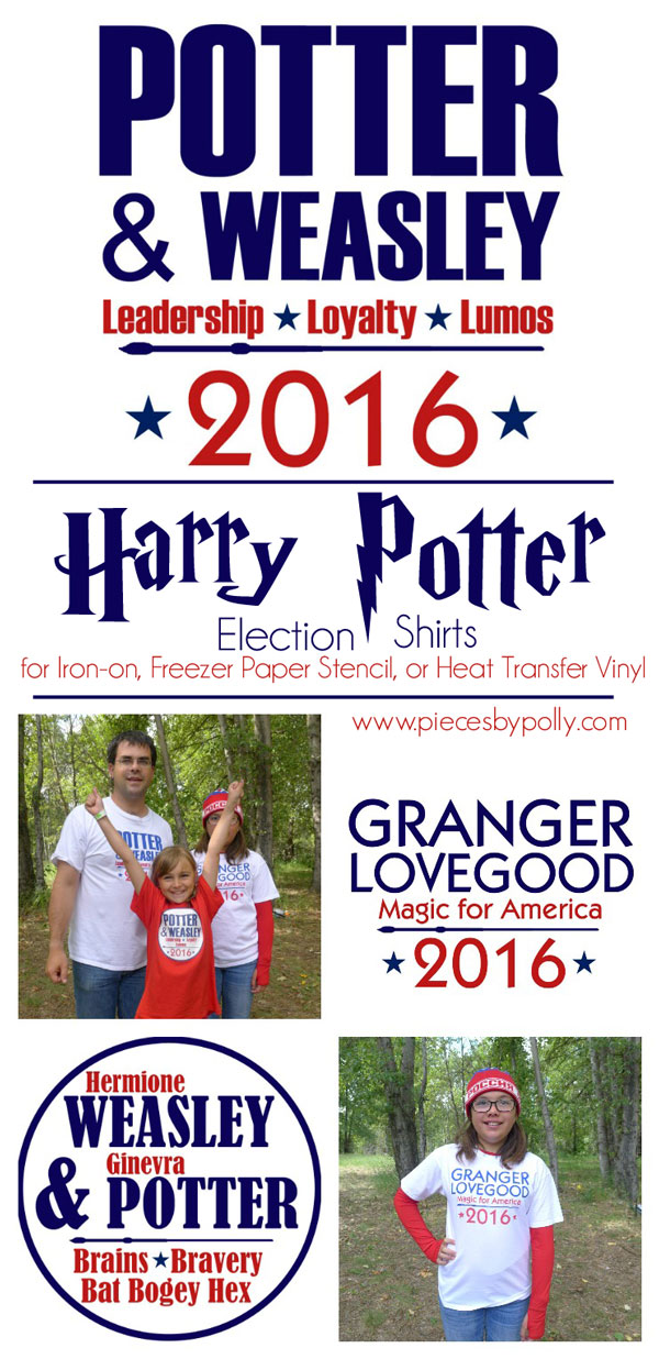 Pieces by Polly: DIY Harry Potter Themed Election 2016