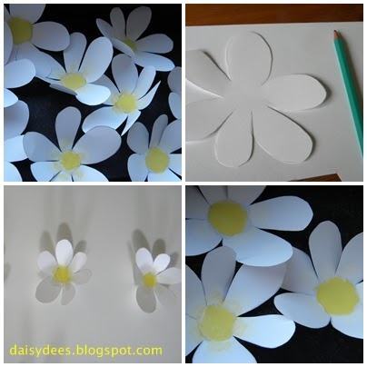daisyd es des fleurs en papier. Black Bedroom Furniture Sets. Home Design Ideas