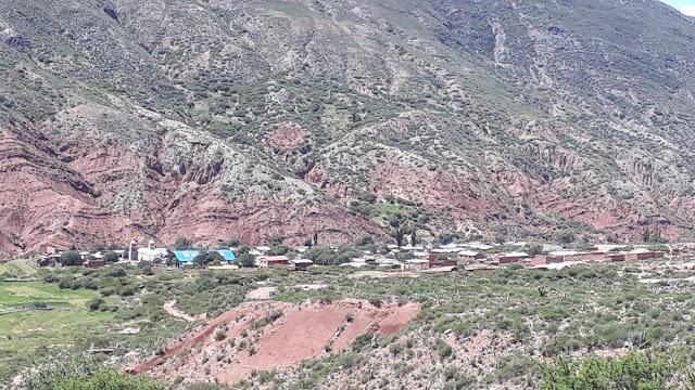 Blick von der Mine auf Esmoraca