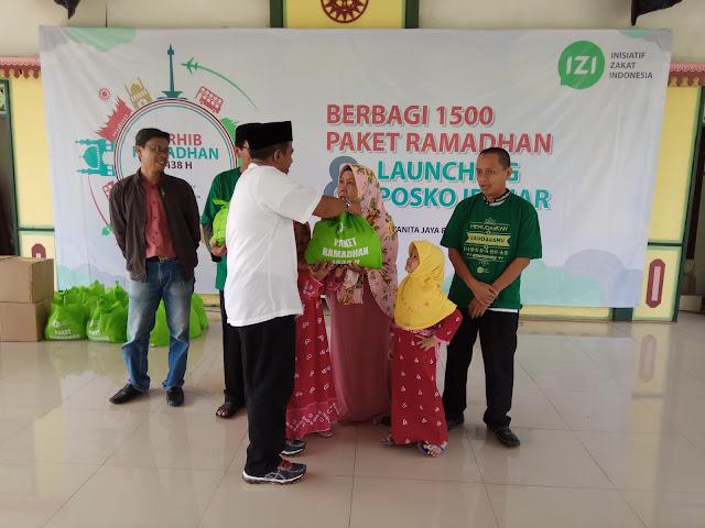 IZI Siapkan 1500 Paket Ramadhan untuk Keluarga Dhuafa