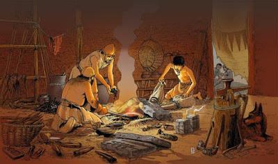 لاد الرافدين في العصر الحجري المعدني