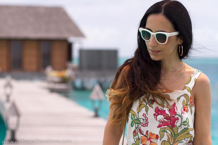Blogger influencer de Vacaciones en Maldivas