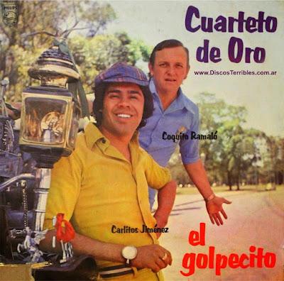 Cuarteto de Oro - El golpecito / Discos Terribles