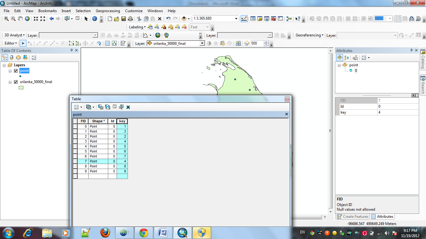 How to join excel data into shape file | GIS NOTES