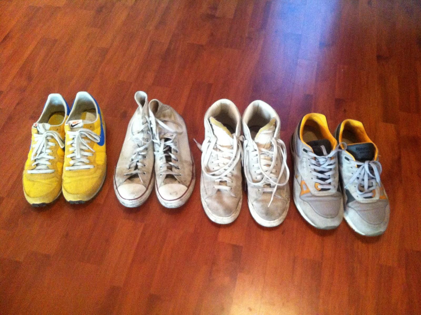 Sneaker waschen Wie bekommt man Sneaker wieder sauber