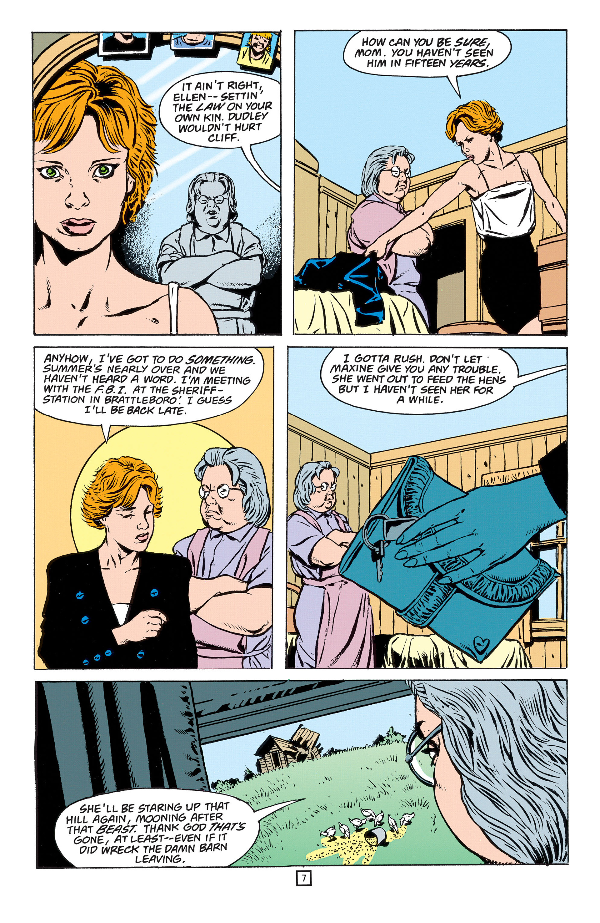Read online Animal Man (1988) comic -  Issue #55 - 8
