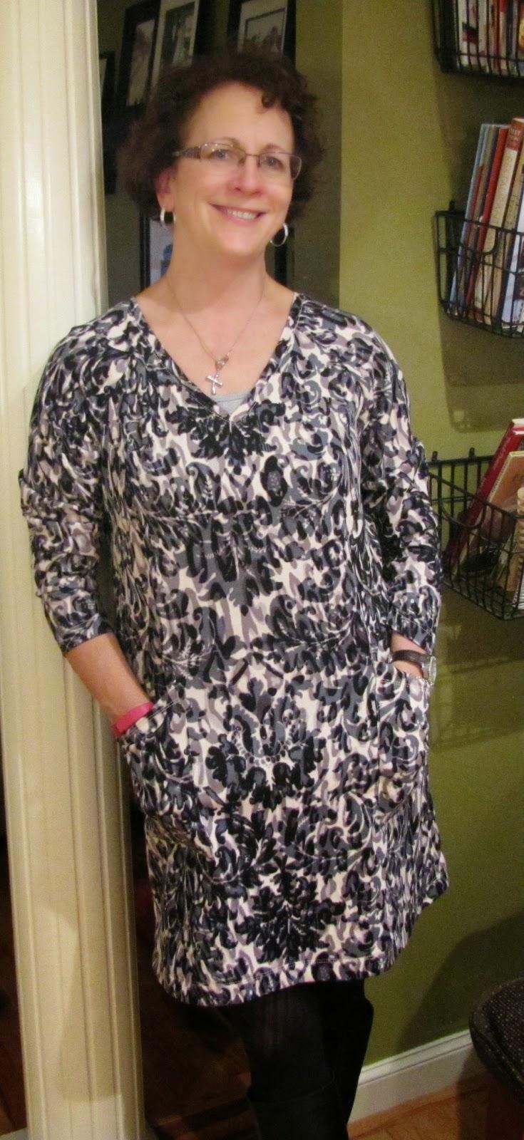 58d8ddd6f5783c New Look Ladies Easy Sewing Pattern 6298 Stretch Knit Jumper Dresses ...