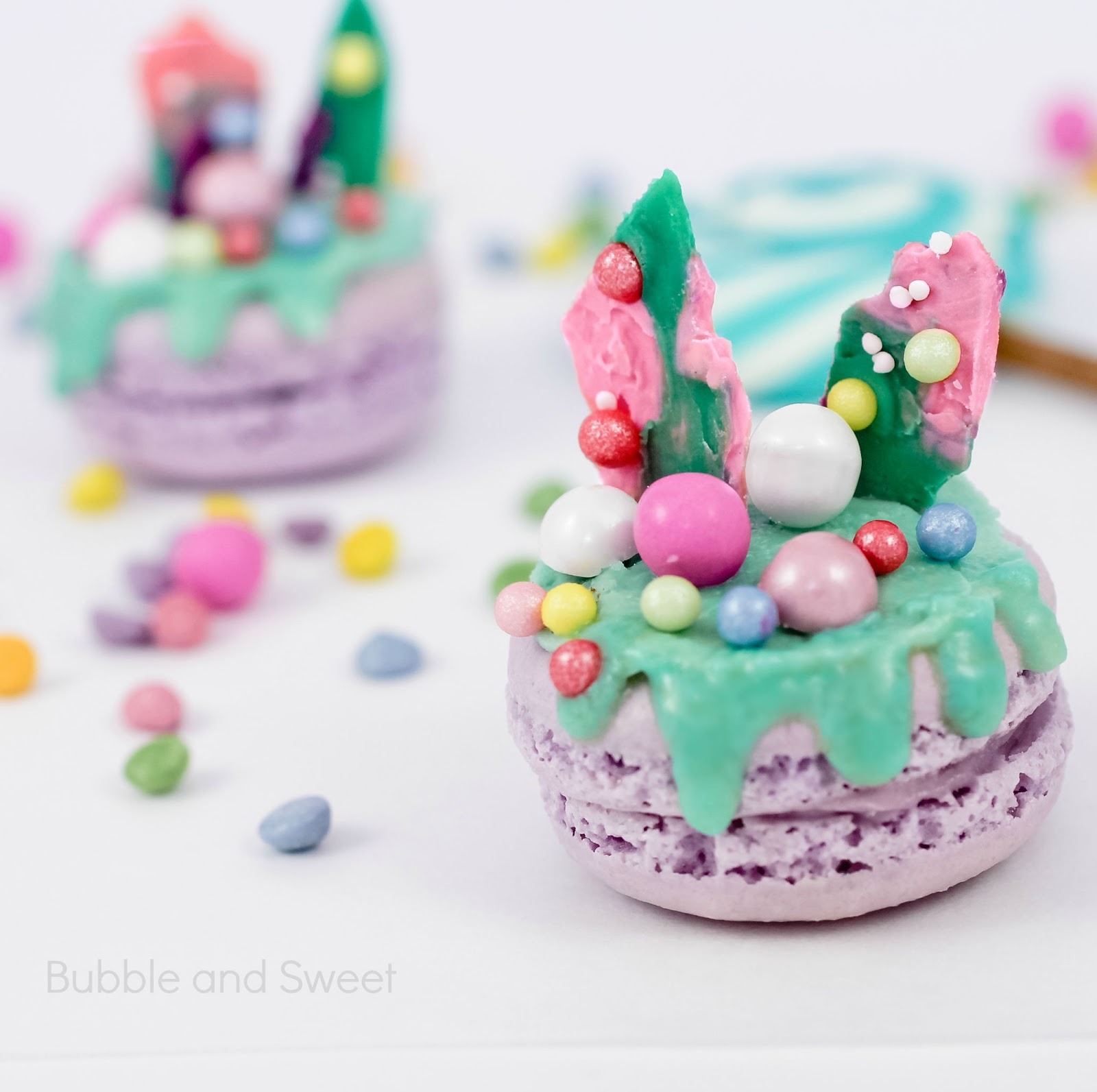 Bubble And Sweet Candylicious Macarons