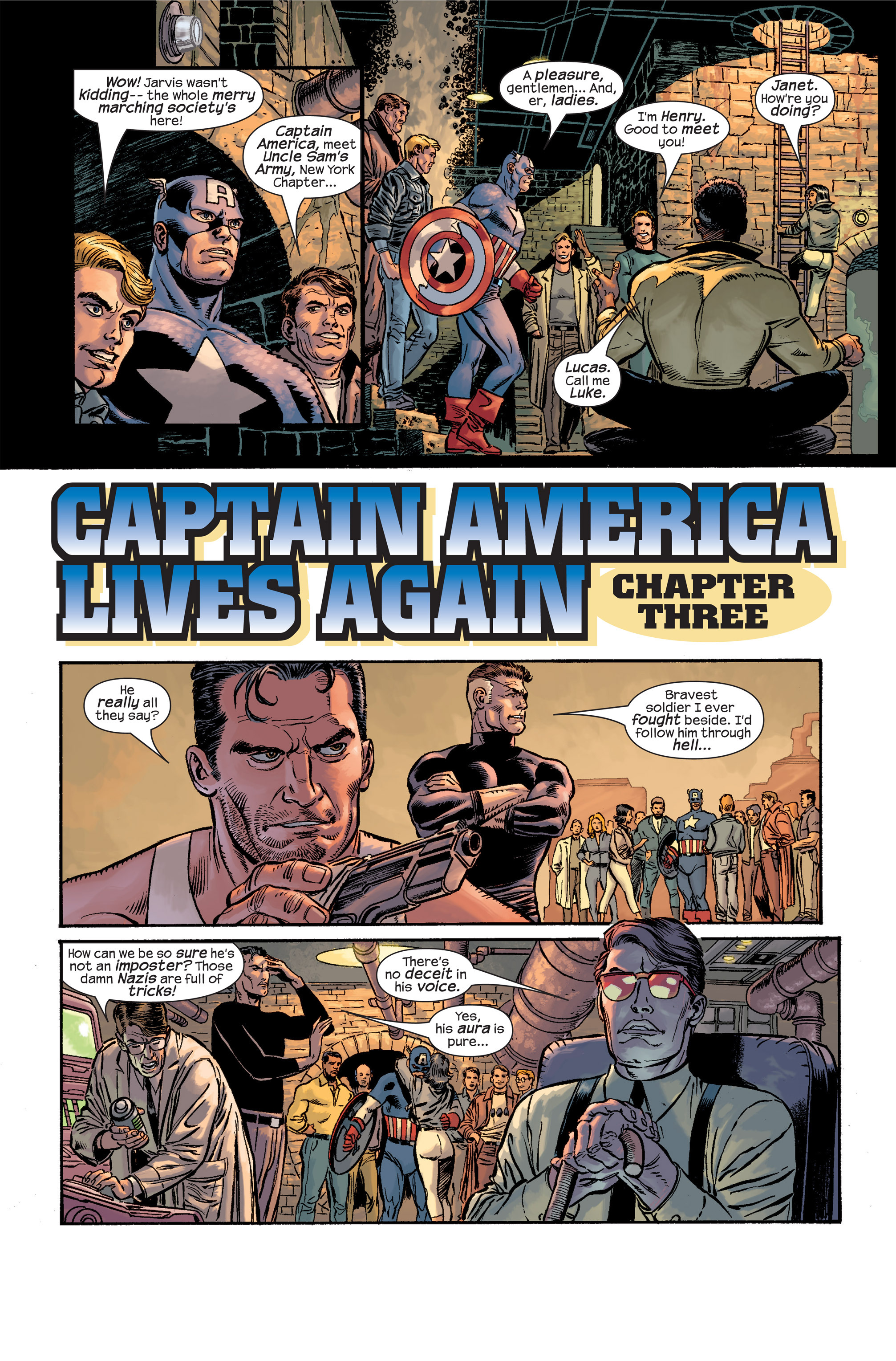 Captain America (2002) Issue #19 #20 - English 4
