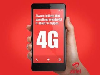 Airtel Get 10GB 4G Data For 4G Smaetphone Users