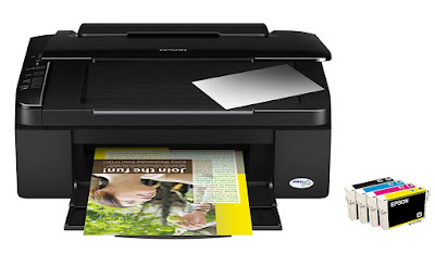 Cost effective printing with separate single cartridges  Epson Stylus SX110 Driver Downloads
