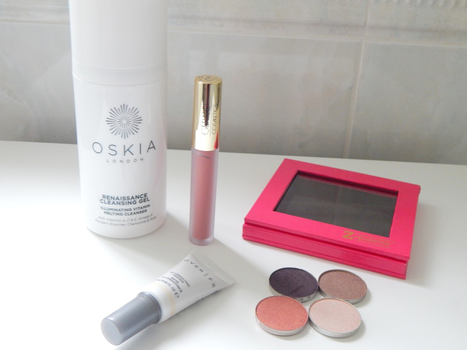 Beauty Bay haul featuring Oskia, Makeup Geek, Gerard Cosmetics and Cover FX