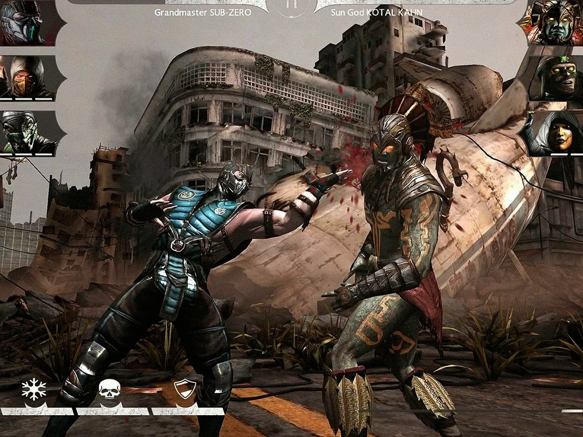 Mortal Kombat X v1.1.3 [Mod money] APK + OBB ALL Gpu