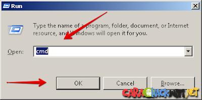 Cara membuka CMD di Windows