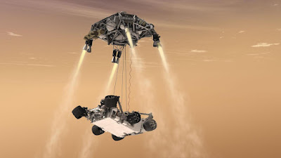 Perquè és tant difícil fer aterrar una nau espacial a Mart