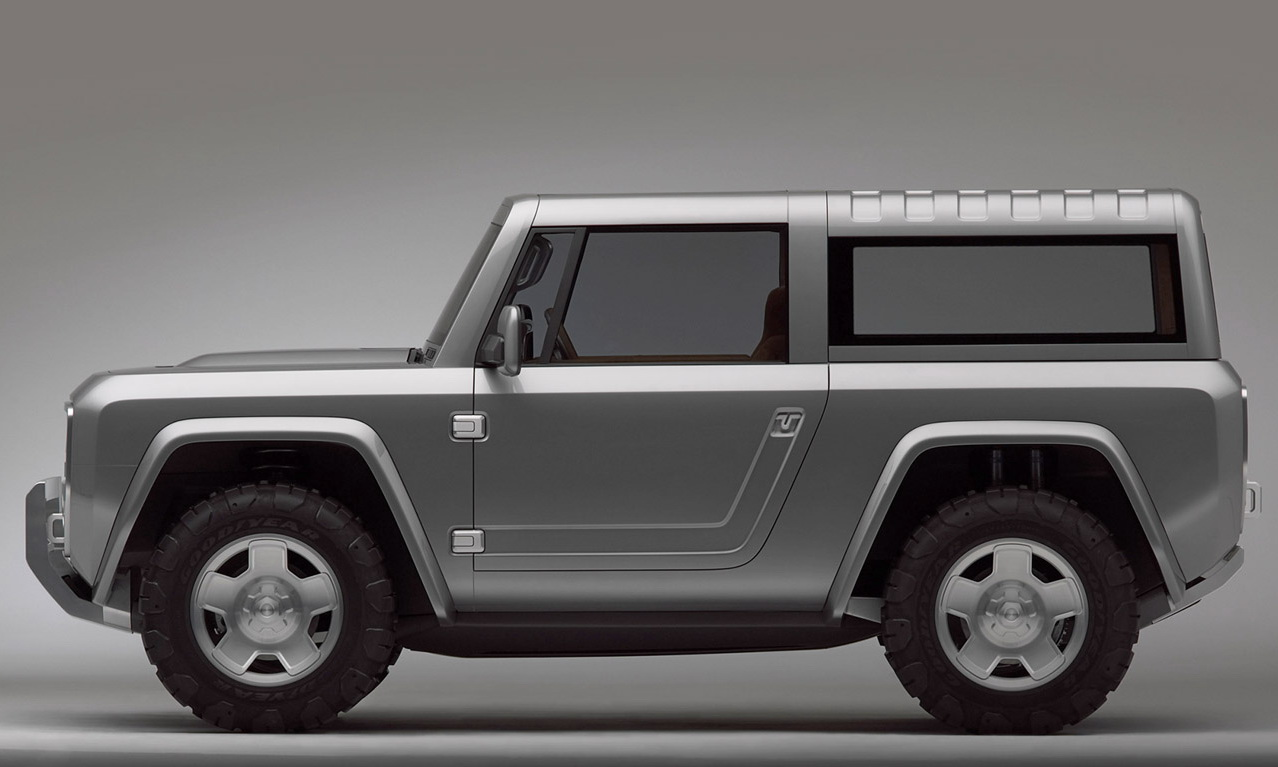 Ford S 2004 Bronco Concept Finally Sees Some Action Car News