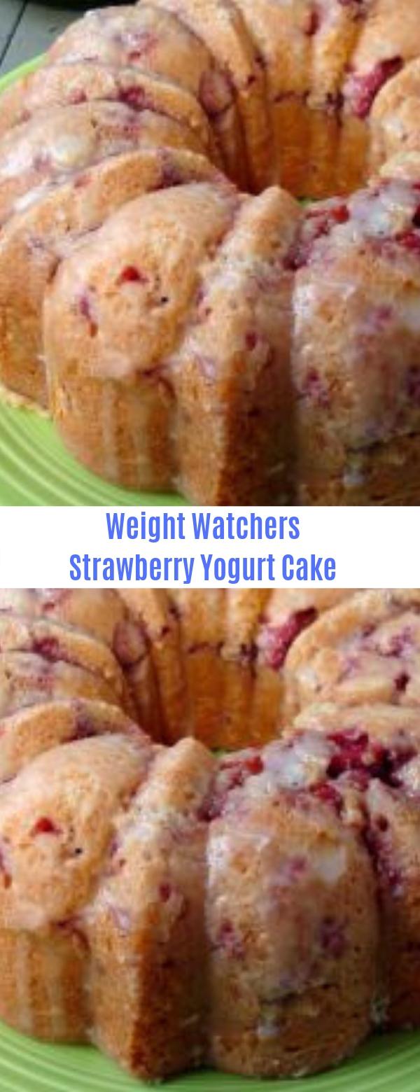 Weight Watchers Strawberry Yogurt Cake