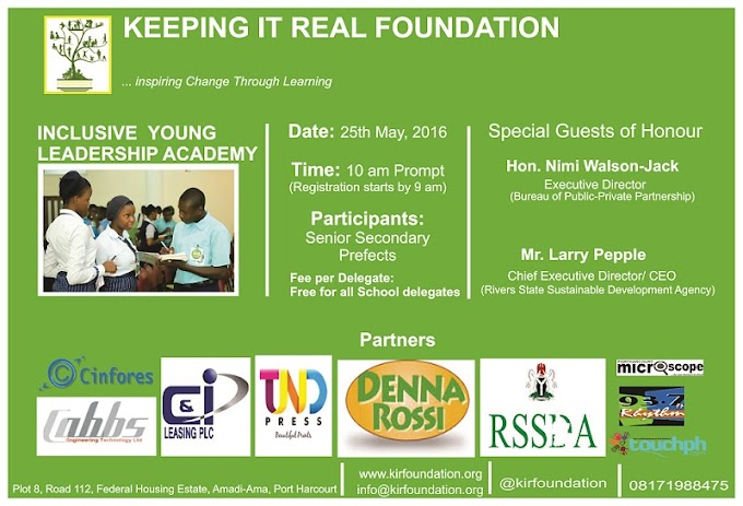 Inclusive Young Leadership Academy (YLA) 2016