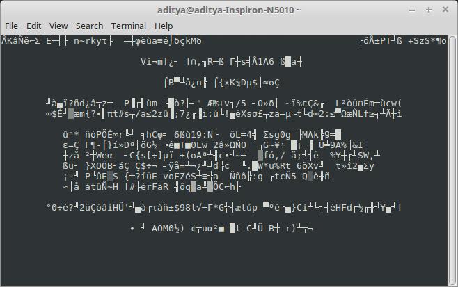 No More Secrets linea de comando linux