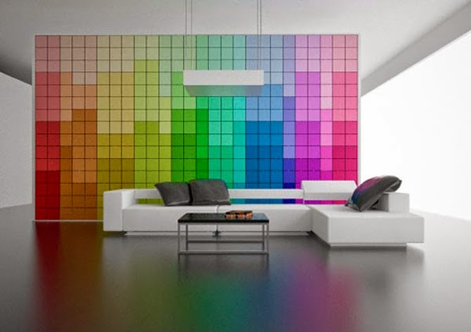 Bedroom Designs Futuristic Color Pallette Wall Parion Design