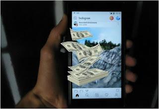 طريقة جني المال من حسابك على الانستغرام Instagram