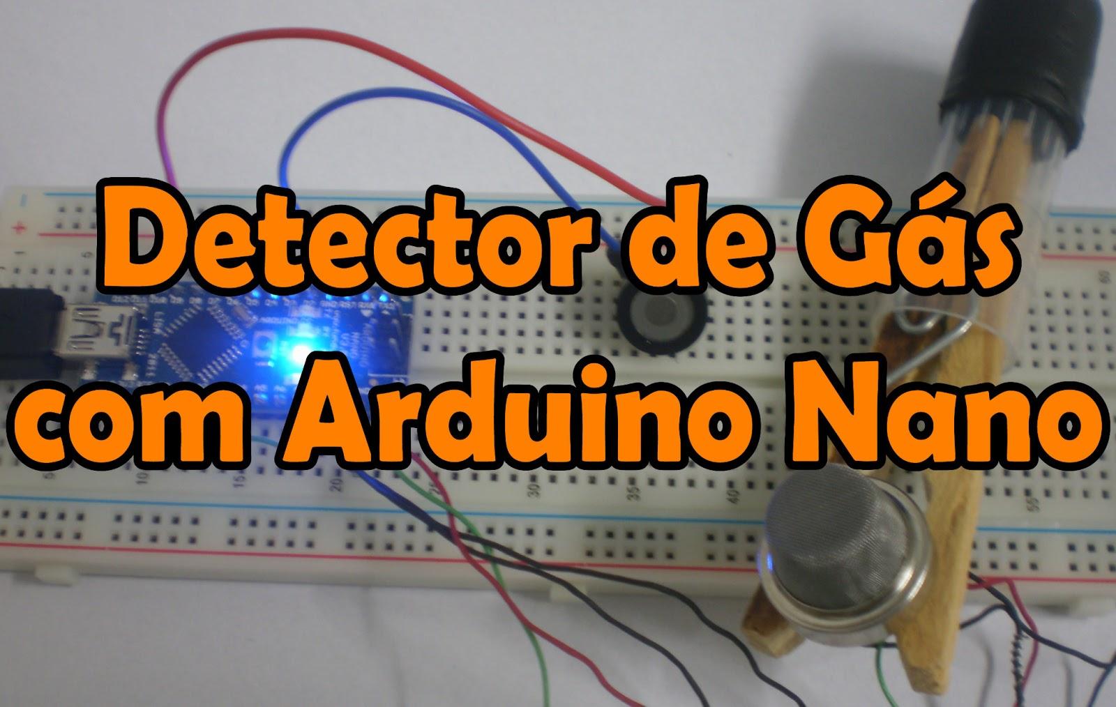 Tutorial: Detector de gás com Arduino Nano e Sensor MQ-5