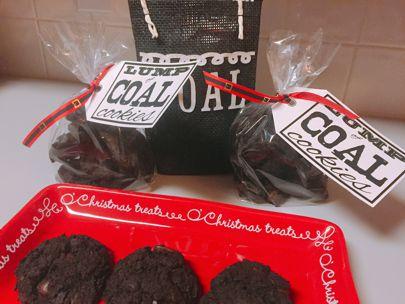 The Devilish Dish Lump Of Coal Cookies