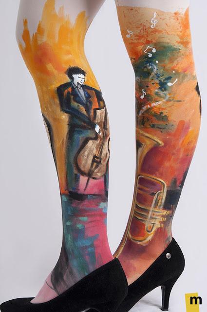 lukisan kaki paling keren kreatif unik dan juga sangat indah-5