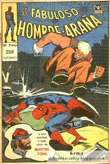 El Fabuloso Hombre Araña, El Tony 258