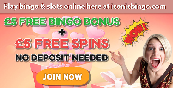 Get £5 Free Bingo Bonus + 5 Free Spins No Deposit Required