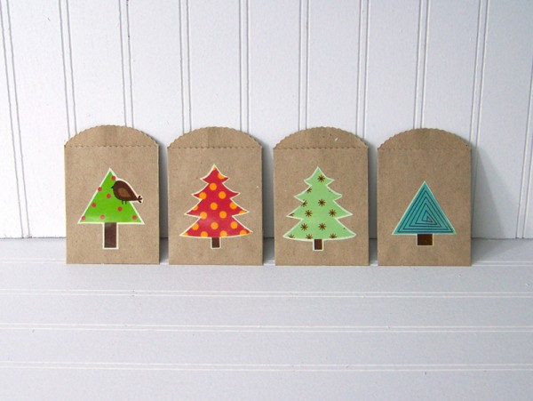 Juneberry Lane: DIY Holiday Gift Card Holders