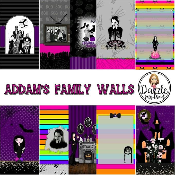 Addam's Family Wall Set