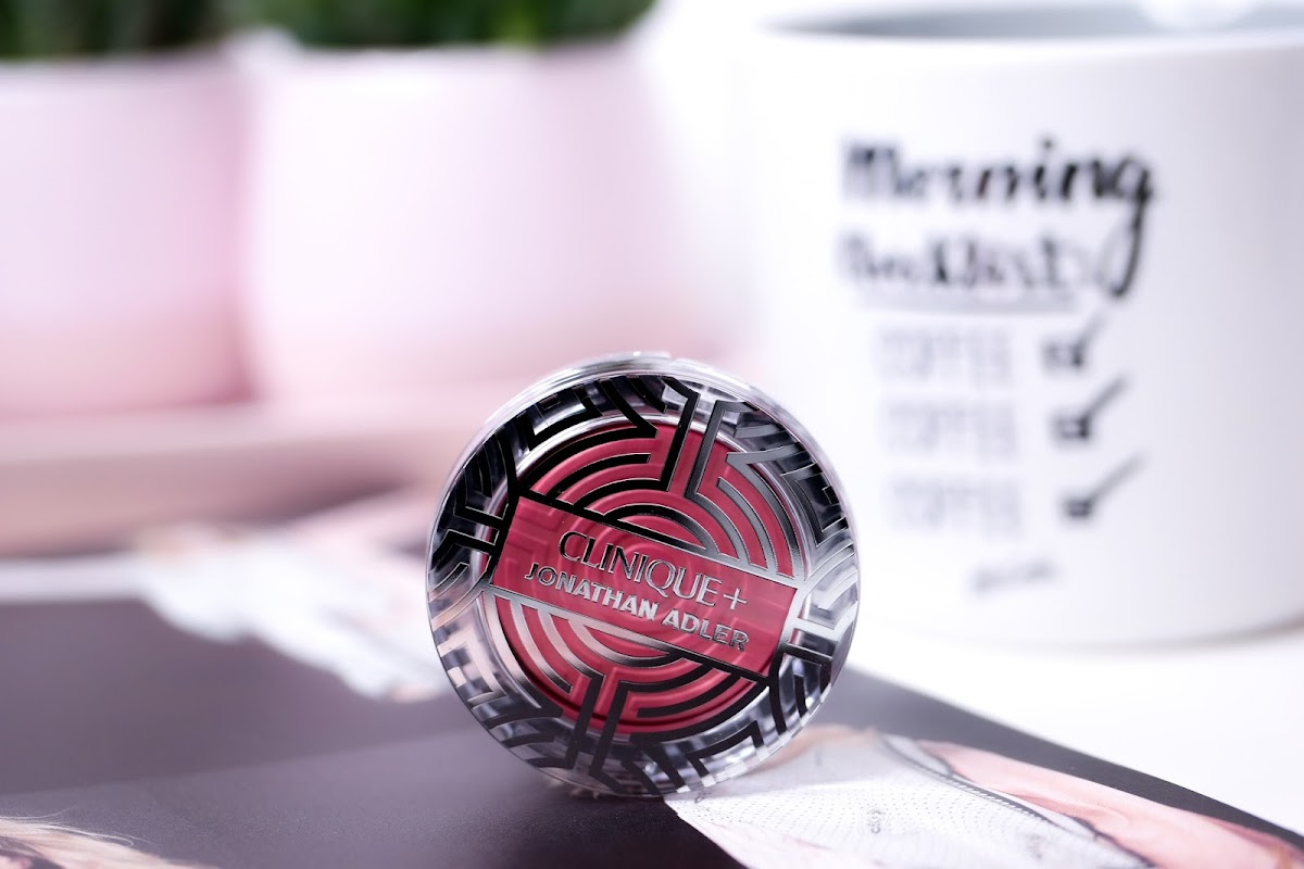 Clinique + Jonathan Adler Cheek Pop Blush Peach Pop