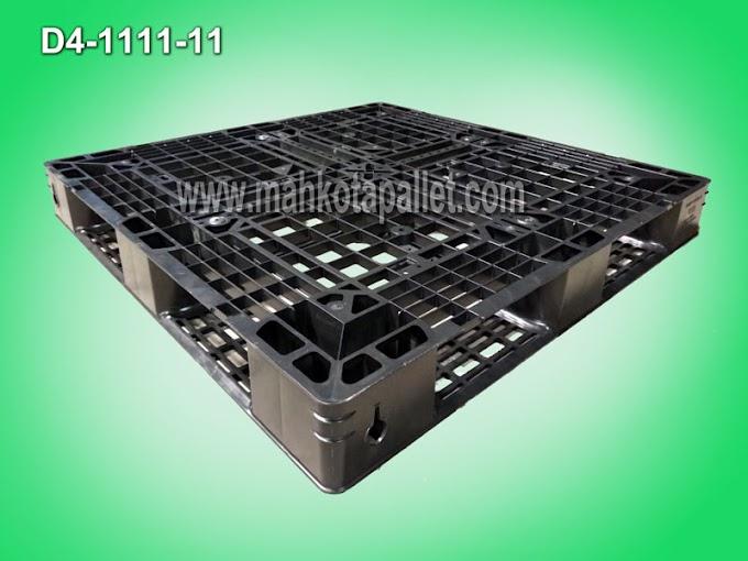 Jual Pallet Plastik Cargo Ukuran 110 x 110 x 12 cm Untuk Logistik