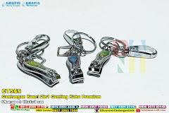 Gantungan Kunci 2in1 Gunting Kuku Premium