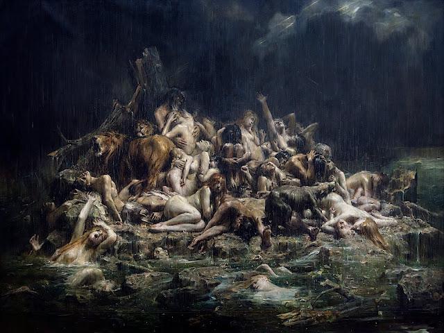 Léon Comerre: Il Diluvio