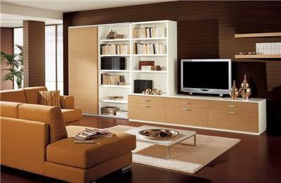 Paredes de salas color chocolate salas con estilo - Color ocre paredes ...