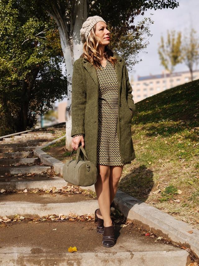 surkana otoño 2017 abrigo bolso vestido