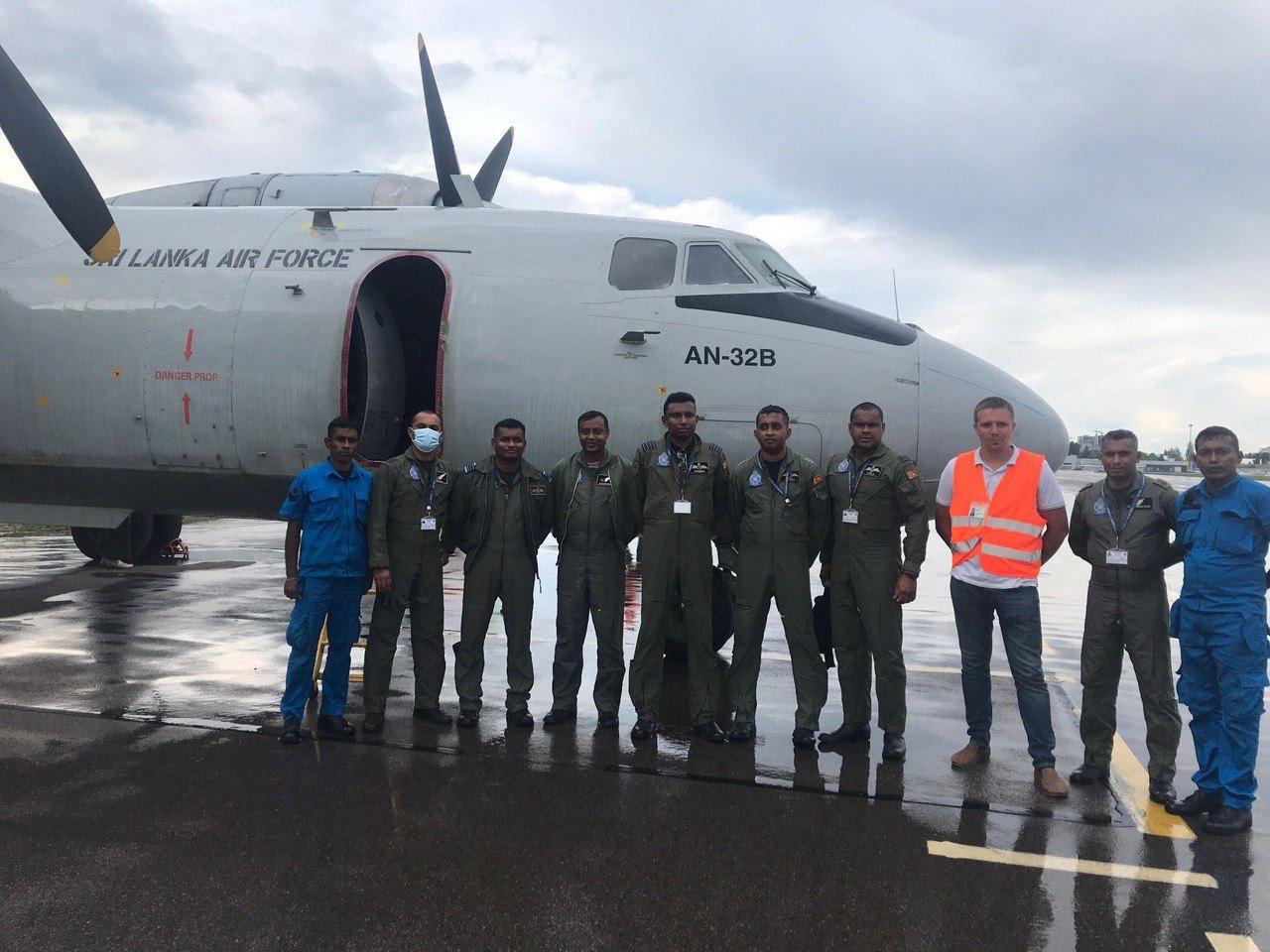 410-завод відремонтує три Ан-32Б Республіки Шрі-Ланка
