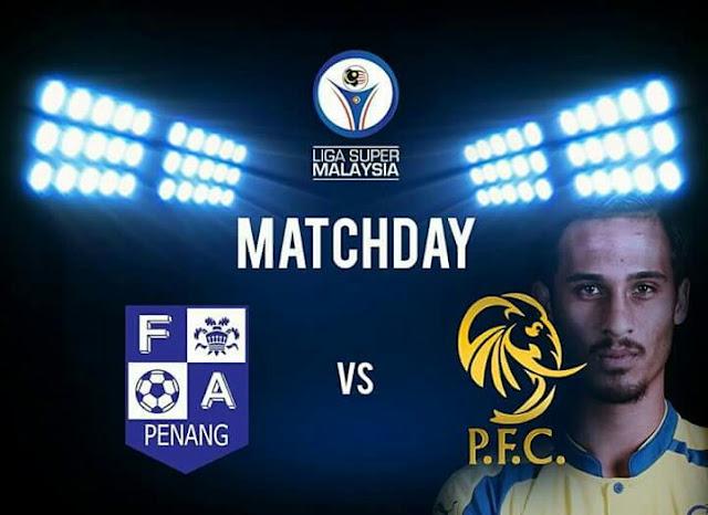 Live Streaming Pulau Pinang vs Pahang 26.7.2017 Liga Super