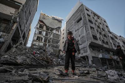 Carte postale de Gaza dans - PHOTOGRAPHIE a2