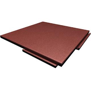 Greatmats Sterling rubber roof top tiles terra cotta color