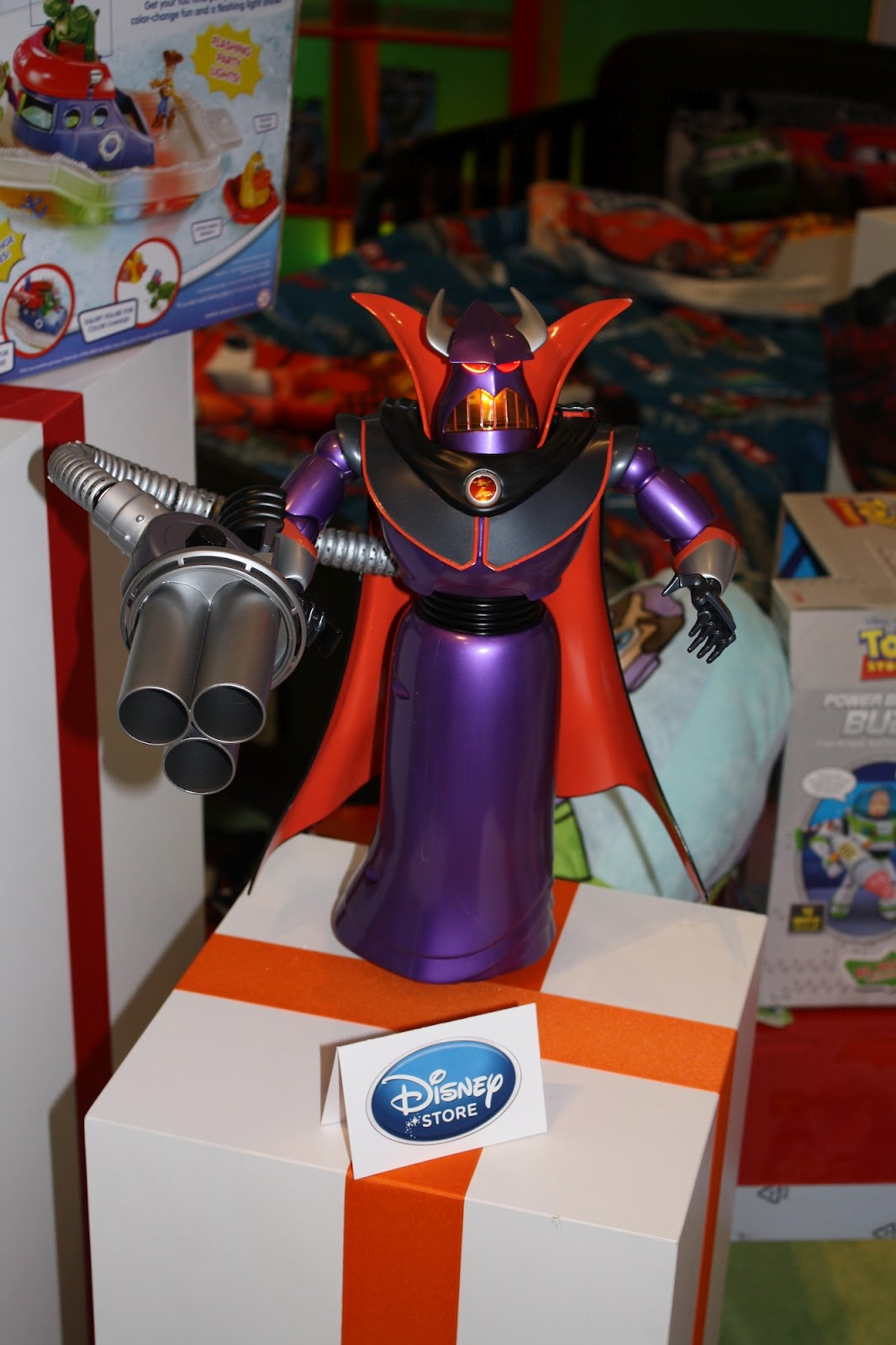 New Toys - Zurg, Partysaurus Rex and Mater Private Eye ...