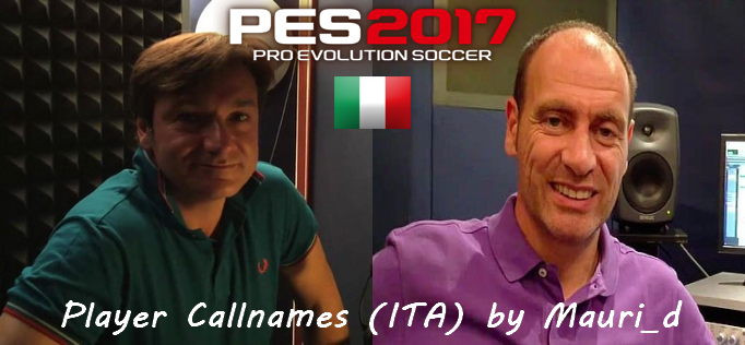 Update PES 2017 PC Player Callnames for Italian Commentary