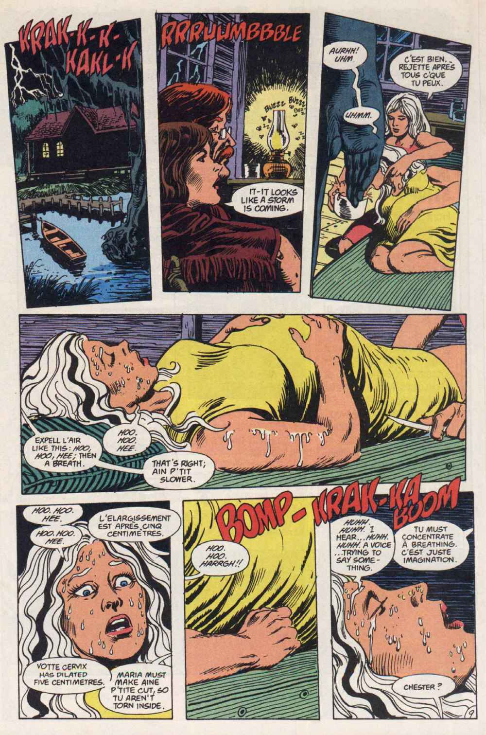 Swamp Thing (1982) Issue #90 #98 - English 10