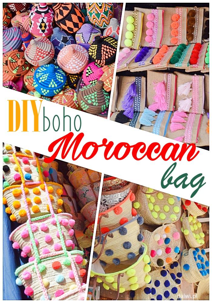 DIY - Marokańska torba shopper